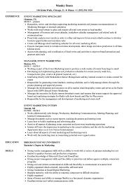 Download Event Marketing Resume Sample As Image File