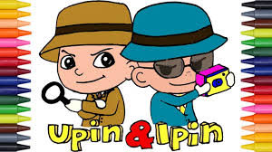 Learn Colors For Kids With Upin Ipin Coloring Pages Nursery