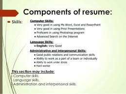 List Of Skills And Abilities On For Resume Sample Resumes Listing Samples Job Computer