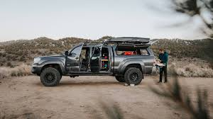 100 Pickup Truck Sleeper Cab Living FullTime In A Toyota Tacoma Outside Online