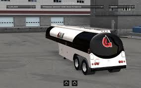 50s Fruehauf Duel Tanker Trailer V1.0 • ATS Mods | American Truck ...