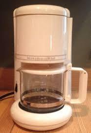 KitchenAid Ultra 4 Cup Coffee Maker Model KCM055AC2 Almond Cream