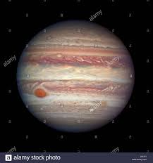 The Hubble Space Telescope Captures Largest Planet In Solar System After Jupiter Made Nearest Approach To Earth A Year April 3 2017