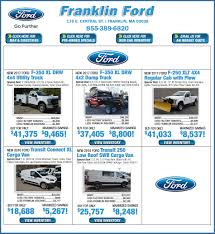 100 Rebates On Ford Trucks Franklin S Advertised Specials