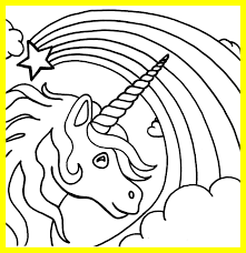 Fascinating Printable Unicorn Coloring Pages For Kids Image Of Styles And Ideas Free