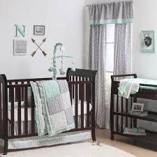 Woodland Creatures Nursery Bedding by Blankets U0026 Swaddlings Dwellstudio Woodland Tumble Crib Sheet