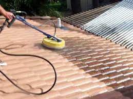 roof cleaning cement tile rotory wash brisbane australia