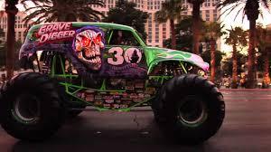100 Monster Truck Grave Digger Videos Jam World Finals 2012 30th Anniversary Parade On The Las Vegas Strip