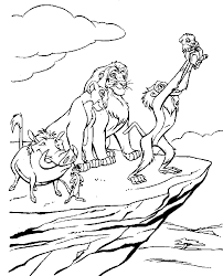 Cartoon Lion Drawing 1581341