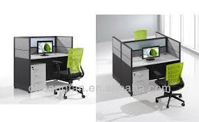 CF Standard Size Modern Design Office Workstation Furniture Partition Desk For Single Seater