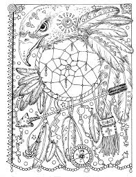Animal Spirit Dreamcatchers Coloring Fun For All Ages Deborah Muller Adult Pages