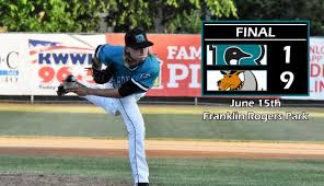El Patio Eau Claire Express by Mathis Strikes Out Ten In Road Loss Rochester Honkers