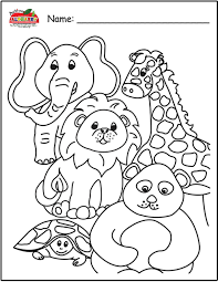Animal Coloring Page Pagepdf