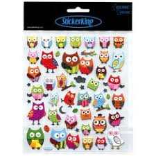 15 Shocking Owl Stickers Scrapbooking