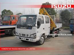Hot Selling 3200kg Isuzu Series Brand New Truck Mounted Crane In ...