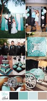 Tiffany Blue And Black Wedding Colors
