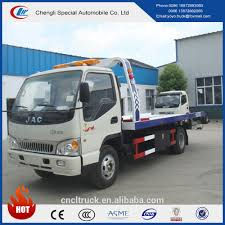 100 Used Tow Truck Jac 42 Platform Wrecker Road Emergency With Low