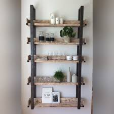 diy floating plate rack holz upcycling holz altern