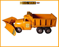 ORIGINAL 1957 Tonka BIG MIKE State Hi Way Dual Hydraulic Dump Truck ...