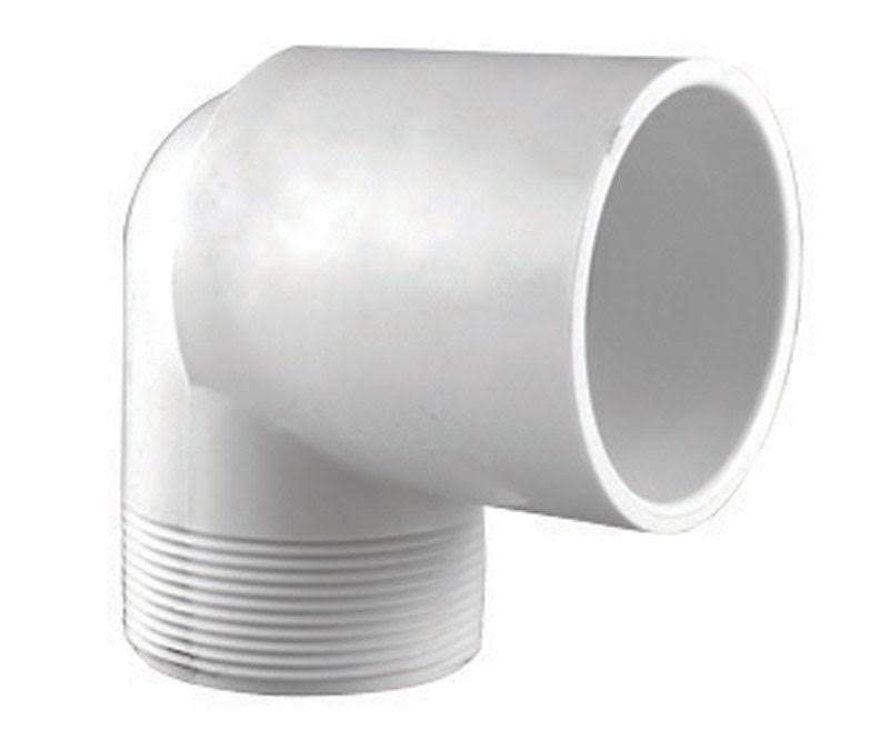"Charlotte Pipe and Foundry Street Schedule 40 PVC Elbow - 1"", 90 Degrees"