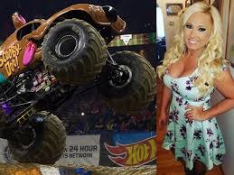 100 Monster Truck Show Los Angeles Part 2 While We Are On The Subject Of MONSTER JAM The LADY