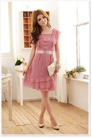 Wholesale Korean Designer Jk Ladies Fashion Dress K8220 Red 1200 Yuki Clothing