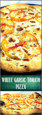 White Garlic Tomato Pizza - BRICK OVEN PIZZA AT HOME..There Are A ... About Michael Angelos Wood Fired Pizza Detroit Style Company Fvities By Firelight Truck Olivellas Neo Napoletana Dizzy Cow Pizzeria Catering In Baltimore And Beyond First San Francisco Opens Location Mission Bay The Review Lego 60150 Van Pompeii Where To Find The Best Pladelphia Visit Palo Mesa Old World New Haven Ct Youtube Rollin Stone Cafe