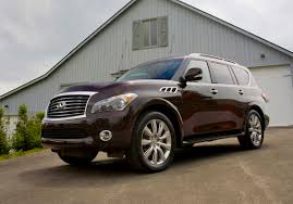 2013 Infiniti QX56 Preview | NADAguides Infiniti Qx80 Wikipedia 2014 For Sale At Alta Woodbridge Amazing Auto Review 2015 Qx70 Looks Better Than It Rides Chicago Q50 37 Awd Premium Four Seasons Wrapup 42015 Qx60 Hybrid Review Kids Carseats Safety Part Whatisnewtoday365 Truck Images 4wd 4dr City Oh North Coast Mall Of Akron 2019 Finiti Suv Specs And Pricing Usa Used Nissan Frontier Sl 4d Crew Cab In Portland P7172a Preowned Titan Sv Baton Rouge I5499d First Test