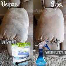 Easiest way to clean your microfiber couch is right here ⬇ ••• Simply