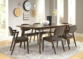 Mid Century Modern Dining Room Table Chair Danish Chairs And