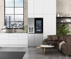 lg präsentiert innovative lg instaview kühlschränke auf der