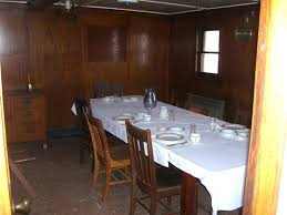 SS City Of Milwaukee USCGC Acacia Officers Dining Room
