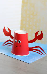 Paper Cup Crab Craft For Kids Easy Peasy And Fun P1EJg9S4
