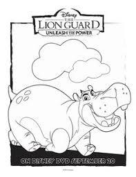 Free Disney Lion Guard Beshte Coloring Page