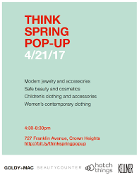 Bed Stuy Patch by Spring Fashion Beauty Pop Up 727 Franklin Ave Prospect Heights