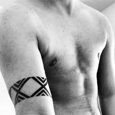 Simple Armband Tattoos For Males