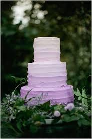 Lavender Ombre Wedding Cake Garden Inspiration Summer Dessert 2014 Food