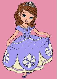 Sofia The First Coloring Pages For Kids Ft Princess