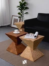 großhandel balkon massivholz teetisch sofa beistelltisch nordic wohnzimmer designer kreative holz ecke hocker meow householdes 316 48 auf