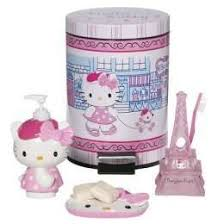 Bathroom Sets Collections Target by Paris Themed Bathroom Set Hello Kitty Bonjour Bath Collection