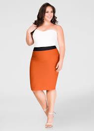 strapless bandage dress plus size dresses ashley stewart 010 82658m
