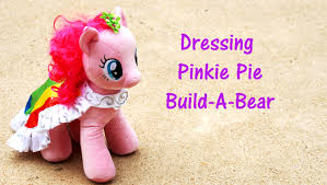 Pumpkin Palace Pets Build A Bear by Pinkie Pie Dressing My Little Pony At Build A Bear Workshop