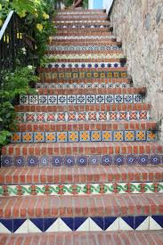 Mexican Tile Saltillo Tile Talavera Tile Mexican Tile Designs by Bricks U0026 Mexican Reminds Me Of The Steps Going Up To Si Señor