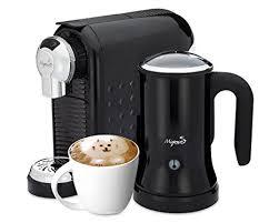 Cappuccino Maker Nespresso Compatible Capsules By Mixpresso Black