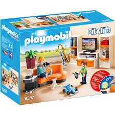 playmobil 9267 wohnzimmer playmobil city