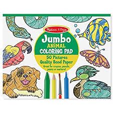 Melissa Doug Jumbo Coloring Pad
