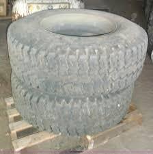 100 15 Truck Tires 2 Goodyear 225 Super Single Truck Tires Item B9017