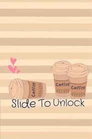 Cute Coffee Lock Screen Via We Heart It