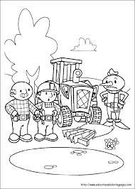 Bob The Builder Coloring Pages Corresponsablesco