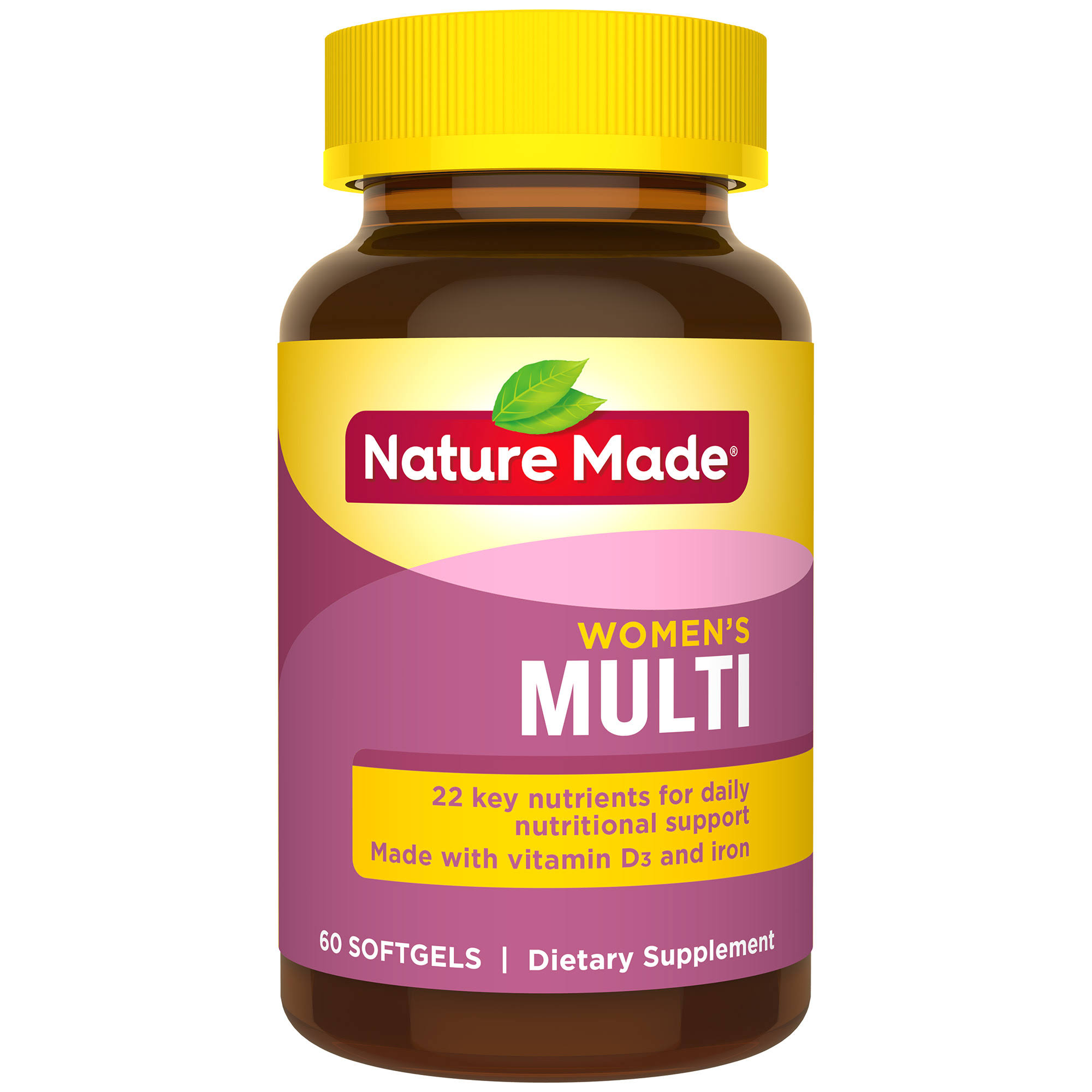 Nature Made Multi for Her Dietary Softgels Original Formula